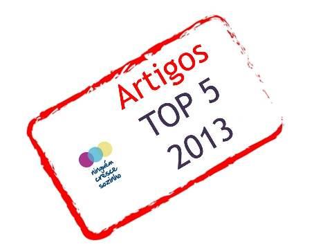 Artigos top 5 2013