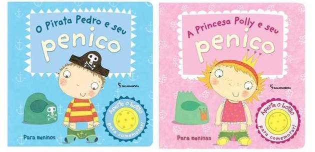 O Pirata Pedro e a Princesa Polly e seu penico